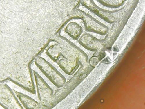 1960 D  RPM + Double Die Reverse Circulated Uncertified Jefferson Nickel.