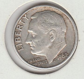 1962 D Roosevelt Dimes - #2