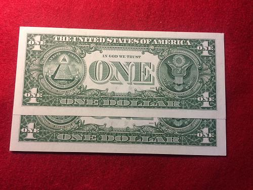 2 - 2009 UNCIRCULATED $1.00 FRN,