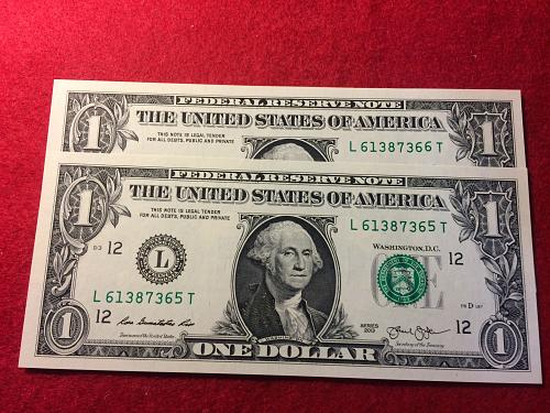2 - 2013 UNCIRCULATED FEDERAL RESERVE NOTE