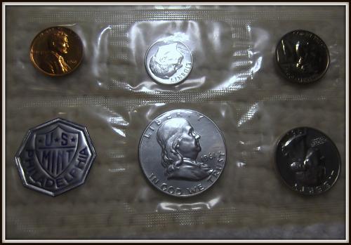 1961 1C-50C United States Mint Silver Proof Set