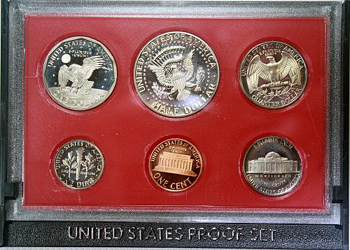 1980 S Proof Set