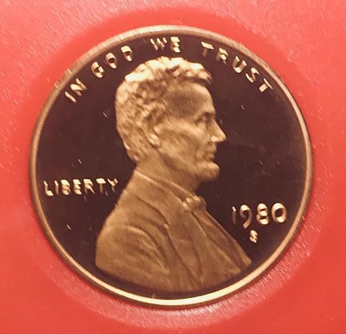 1980 S Proof Cent