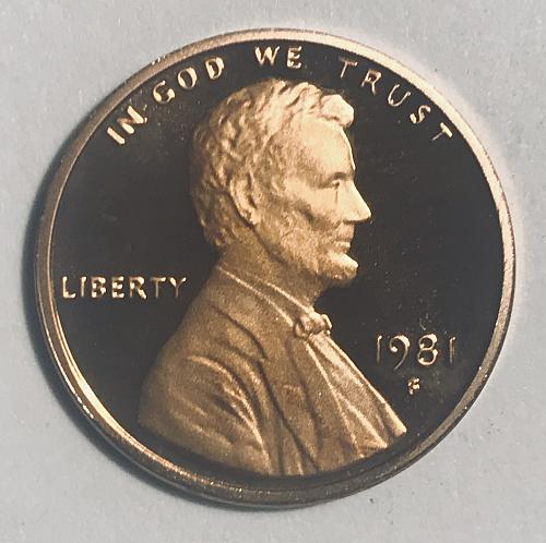 1981 S Proof Cent