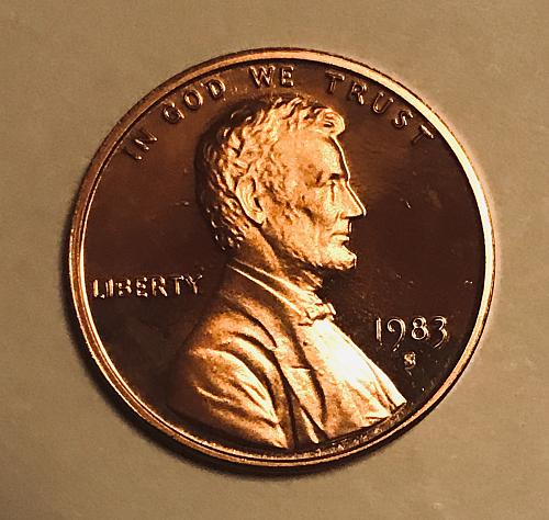 1983 S Proof Cent