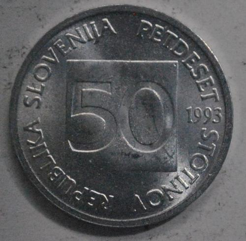 Slovenia 50 Stotinov 1993