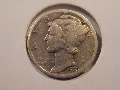 1935 S Mercury Silver Dime (35SM1)