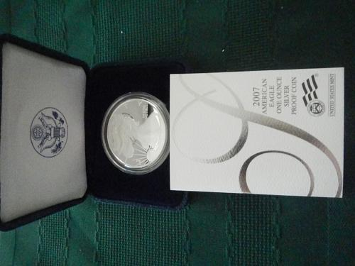 2007 -W  AMERICAN EAGLE 1 OZ PROOF