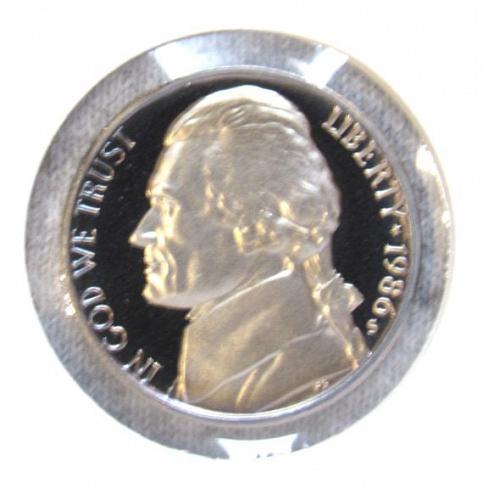 1986 S Jefferson Nickel