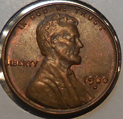 1960-D Small Date Lincoln Cent