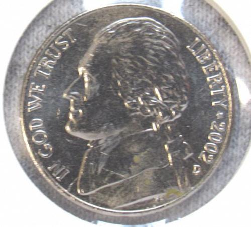 2002 D Jefferson Nickel