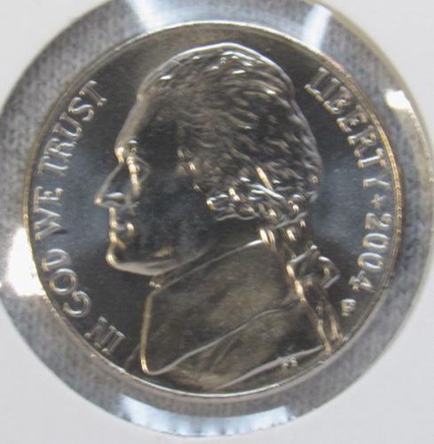 2004 P Jefferson Nickel: Keelboat