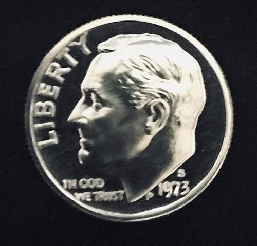 1973-S Proof Roosevelt