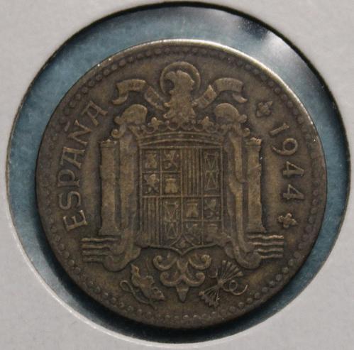 Spain 1944 1 Peseta