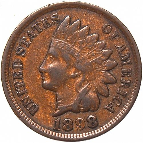 1898 Indian Head Cent #20