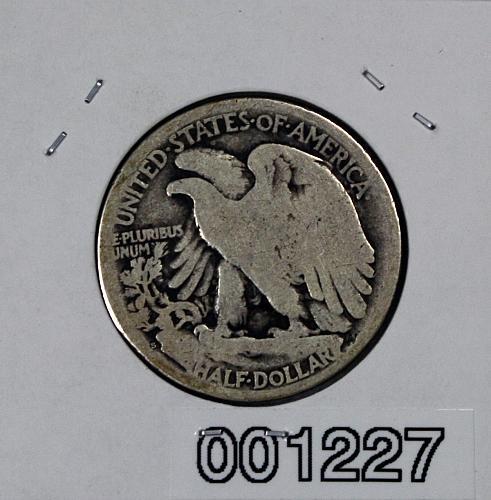 1917 S Walking Liberty Half Dollar