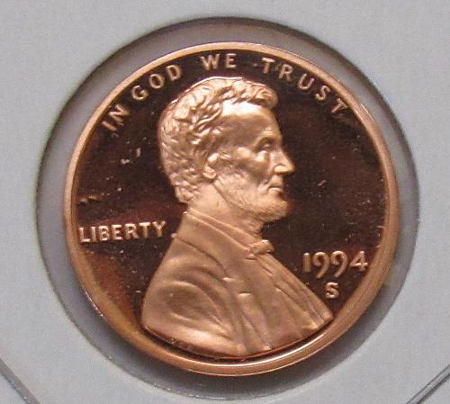1994 S Proof Lincoln Memorial Cent