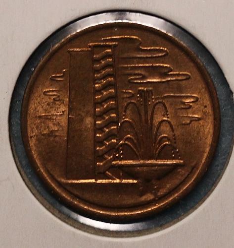 Singapore 1967 1 cent