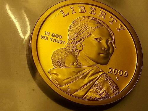 2006 S Native American Sacagawea Dollar Gem Deep Cameo PROOF