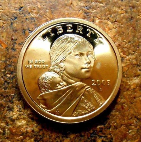 Gem Deep Cameo! US Coin 2004 S Proof Sacagawea Native American Dollar $
