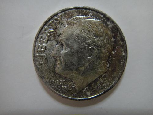1954 Roosevelt Dime MS-65 (GEM) MINT SET TONE!