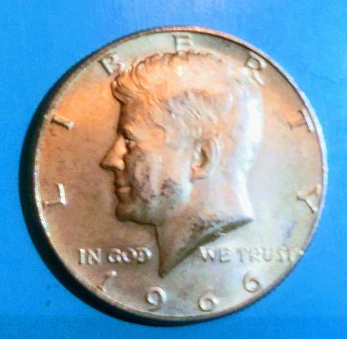 1966 Kennedy Half Dollar P