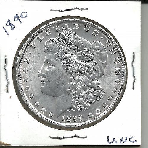 1890      MORGAN DOLLAR