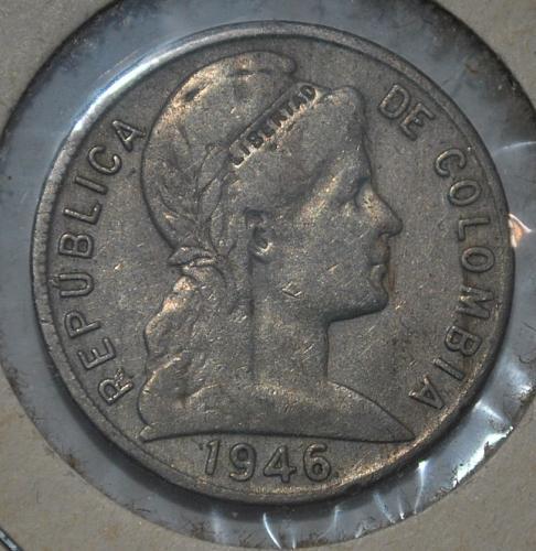 colombia 5 centavos 1946