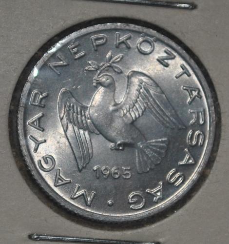 hungary 10 filler 1965