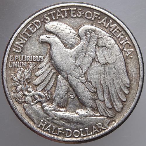 1944 P Walking Liberty Half Dollar #10