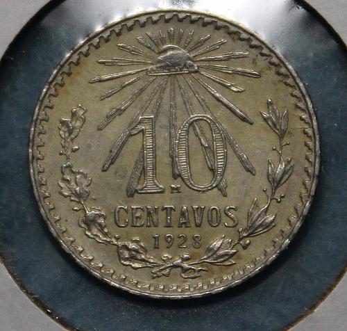 Mexico 1928 10 centavos