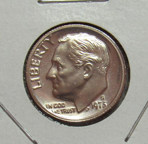 1973 S Proof Roosevelt Dime