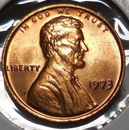 1973-P Lincoln Memorial Cent