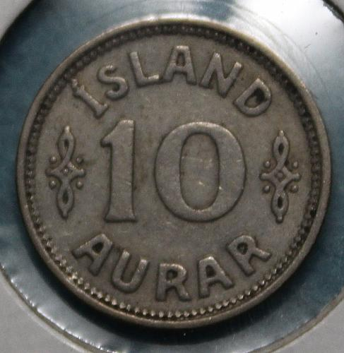 Iceland 1939 10 aurar