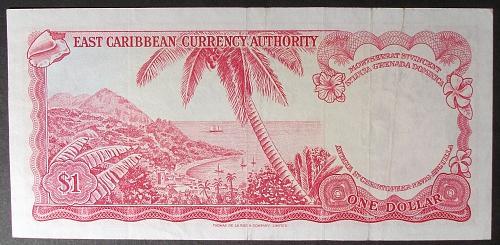 East Caribbean States (Antigua) P13h Dollar XF