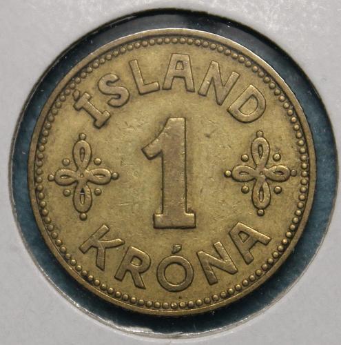 Iceland 1940 1 Krona