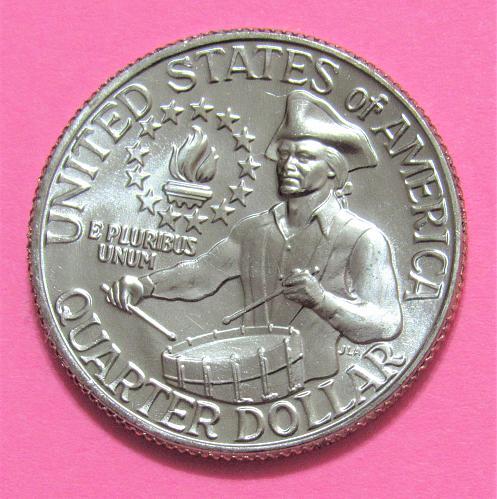 1976-D 25 Cents - Bicentennial Washington Quarter - Little Drummer Boy