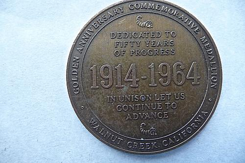 1914- 1964  Walnut Creek California