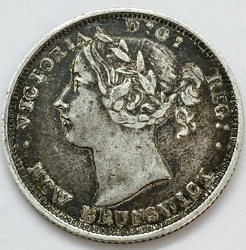 1864 20 Cents - New Brunswick