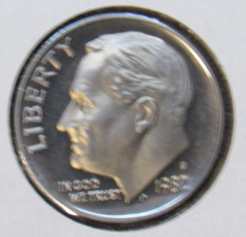1980 S Roosevelt Dime