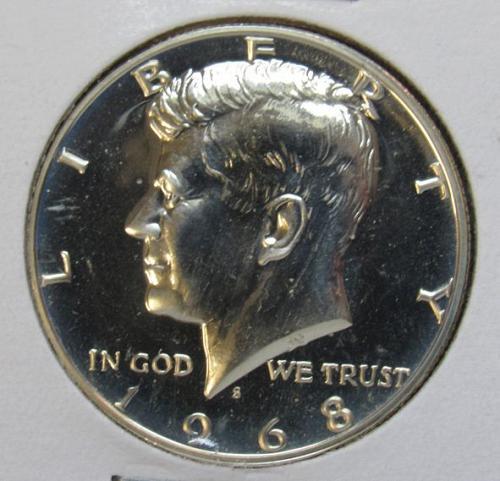 1968 S Kennedy Half Dollar