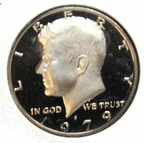 1979 S Kennedy Half Dollars: Type 1 - Filled S