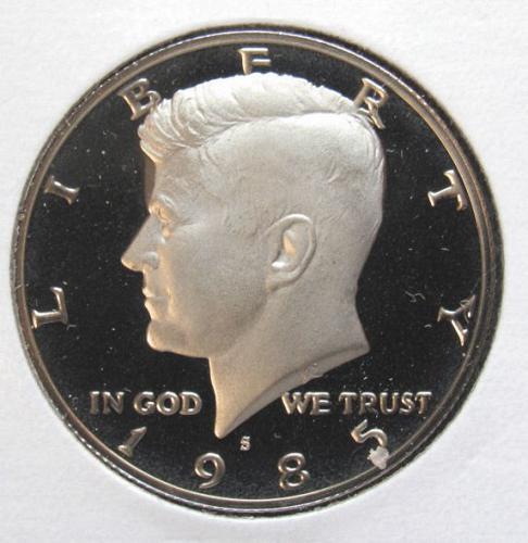1985 S Kennedy Half Dollar