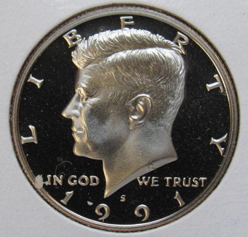 1991 S Kennedy Half Dollar