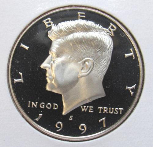 1997 S Kennedy Half Dollar