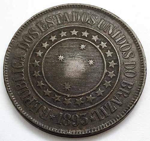1893 40 Reis - Brazil