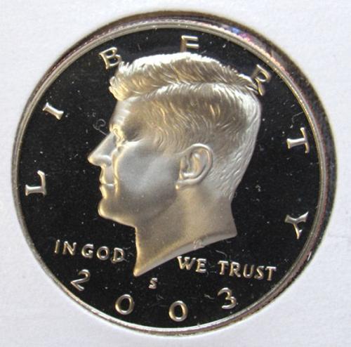 2003 S Kennedy Half Dollar