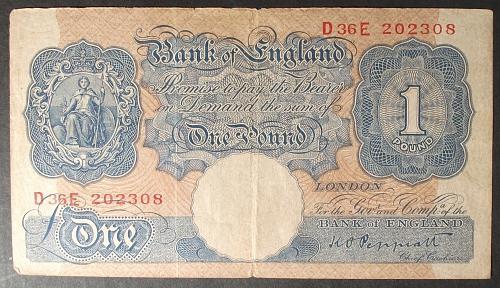 Great Britain P369a Pound Fine