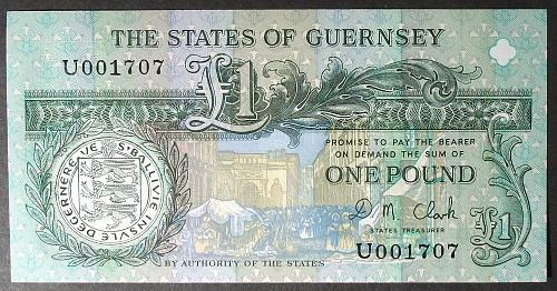 Guernsey P52c Pound UNC63