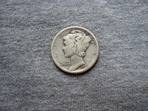1921 D Mercury Dime